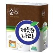 Туалетная бумага Clean World Clean-towel Deko Pure, 30 метров, 24 рулона фото