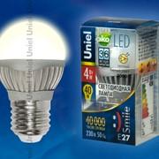 Лампа ALUMINIUM SMILE серия LED-G45-4W/WW/E27/FR ALS01SL фото