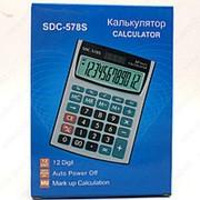 Электронный калькулятор SDC-578S 12 разрядный фото