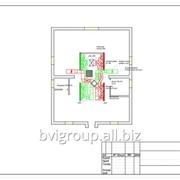 Монтажная схема системы вентиляции котеджа — 520 м2 фото
