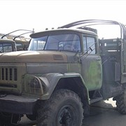 Зил-131 шасси с лебедкой фото