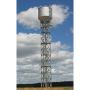 Стальные баки для бесшатровой водонапорной башни на железобетонной опоре проект 901-5-39.87 фото