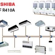 Системы кондиционирования дворцов спорта Toshiba фото