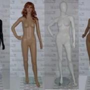 Манекен женский 177см, Грудь 87см, Талия 61см, Бедра 87см, черный глянец, Glance 06 фото