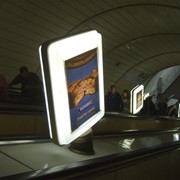 Реклама в метро на метролайтах фото