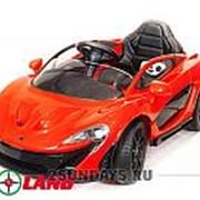 Детский электромобиль Maclaren 672 R красный фото