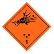 Перевозка опасных химических веществ, Перевозка взрывчатых веществ фото