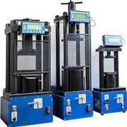 Пресс гидравлический малогабаритный ПГМ-500МГ4А 500 кН для формовки и испытания а/бетонных образцов фото
