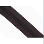 Молния рулонная обувная спираль №7 в ассортименте, черная фото