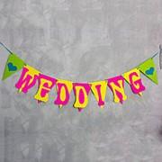 """ГИРЛЯНДА """"WEDDING"""" (АРТ. F-159) фото"""