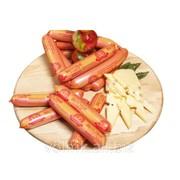 Сосиски вкусные с сыром, высший сорт фото