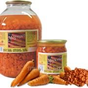 Морковь маринованная резанная фото