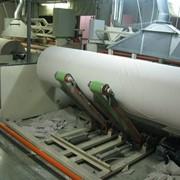 Автоматическая линия по производству туалетной бумаги из макулатурной основы с аспирацией. фото