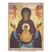 Икона Божией Матери Знамение, XVв. фото