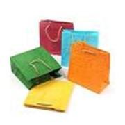 Пакеты бумажные для упаковки подарков фото
