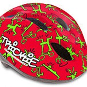 Шлем с сеточкой Trickie 151 Red/Grn детский/подростковый 8отверстий 49-56см AUTHOR фото