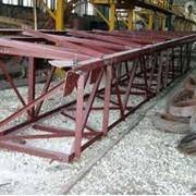 Изготовление металлических ферм Площадки производственные от производителя Завод металлоконструкций Кременчуг фото