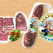 Колбаса сыровяленая Дедушкин гостинец фото