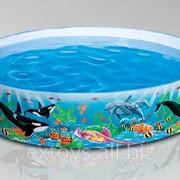 58461 Intex Каркасный детский бассейн Экзотические рифы 183-38 см фото