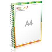Печать брошюр А4 книжный формат Разворот: 420x297 мм. фото