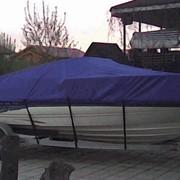 Пошив ходовых тентов для катеров, яхт, лодок фото