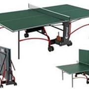 Стол теннисный для помещений Sponeta Спонета blackstepS2-72iЗеленый/S2-73iСиний фото