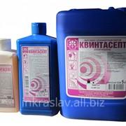 Мыло жидкое с дезинфицирующим эффектом для антисептики рук Квинтасепт фото