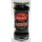Оливки Olivero черные без косточки фото
