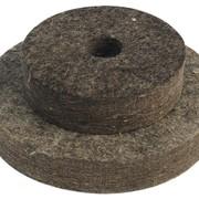 Круг войлочный мягкий 180 мм Mastertool 08-6118 фото