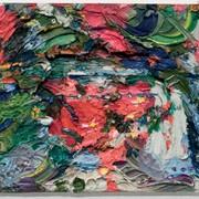"""Картина, Газеев Николай, """"Тюльпаны в саду, крокусы, нарциссы"""" (май) фото"""
