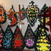 Ритуальные венки, венки,траурные венки, ритуальные венки,ритуальные изделия, ритуальные товары, ритуальные услуги,заказать,купить,доступная цена, Черновцы,область. фото