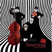 Музыкальное сопровождение свадеб Fondclaim quartet фото