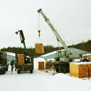 Шпала 180мм x 250mm x 2750mm, сосна, ТИП 1-А. Возможен экспорт. Шпалы деревянные по самой низкой цене от производителя, купить шпалу деревянную. фото