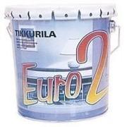 Краска Тиккурила Евро 2 для интерьера 9 л фото