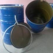 Емкости металлические, 200л новая, ширина диаметр 0,60м высота 0,90м фото