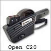 Двухстрочные этикет-пистолеты Open C20 фото