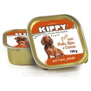 Паштет для собак KIPPY, курица, рис, морковь 150 г фото