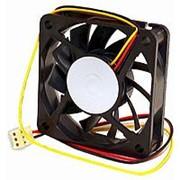 Вентилятор 12 вольт 60 x 15 втулка скольжения 3pin 25см 4000 об*мин Gembird D6015SM-3 фото