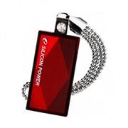 4Gb Touch 810 Silicon Power USB-флеш накопитель, USB 2.0, SP004GBUF2810V1R, Красно-чёрный фото