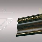 Плинтус потолочный из полиуретана Decomaster Classic 146-1084 фото