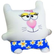 Антистрессовая подушки плюшки Коты Квадро фото
