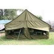 Палатка брезентовая армейская 6х3 метра фото