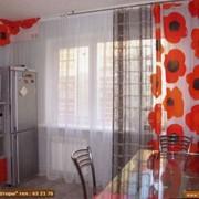 Пошив штор для кухни фото