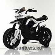 Детский мотоцикл на аккумуляторе MOTO JT5158 белый фото