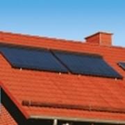 Установка солнечных коллекторов фото