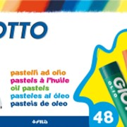 Пастель масляная GIOTTO OLIO, 48 цв. (FILA) фото