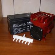 Компрессор воздушный автономный 12 вольт 80 л/мин фото