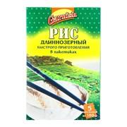 Рис круглозёрный (в пакетиках) фото