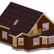 Дом каркасно-панельный Радужный фото