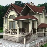 Строительство коттеджей и бань в Тамбове  фото